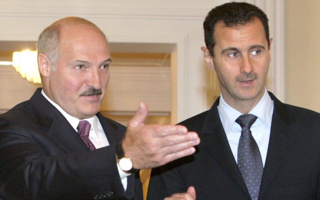 Lukashenko e Bashar Al Assad
